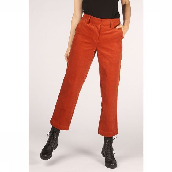 Yas Pantalon heeli Straight Icons Rouille