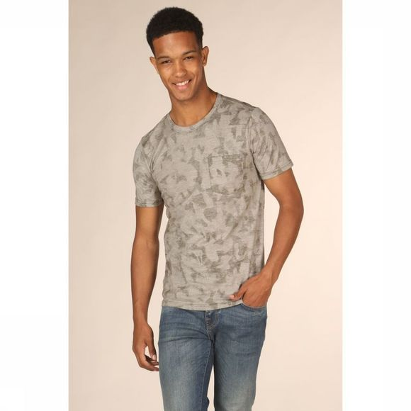 Selected T-Shirt camo Aop Lichtkaki/Assortiment Camouflage
