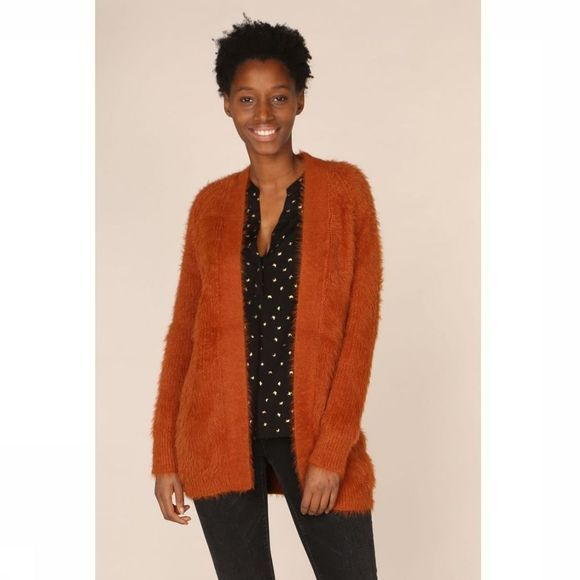 B.Young Cardigan nola Roest