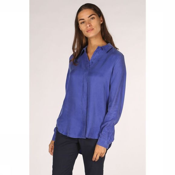 Selected Chemise ria-Odette Ls Bleu Roi