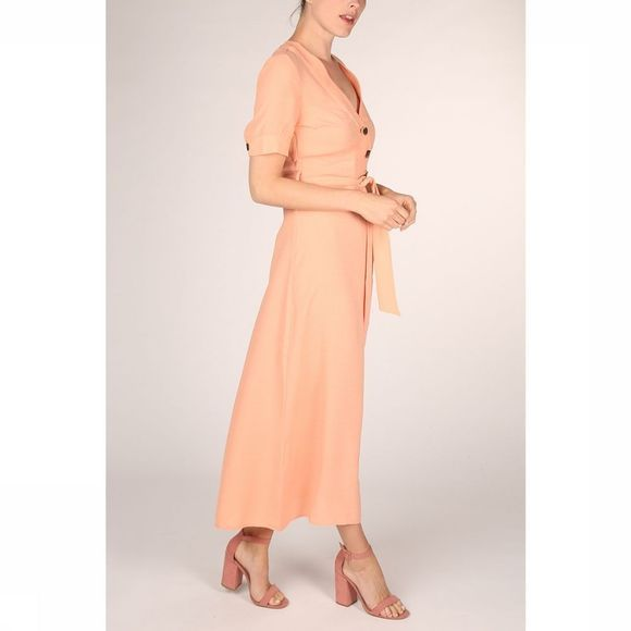 Yas Robe Marion 3/4 Ankle Saumon