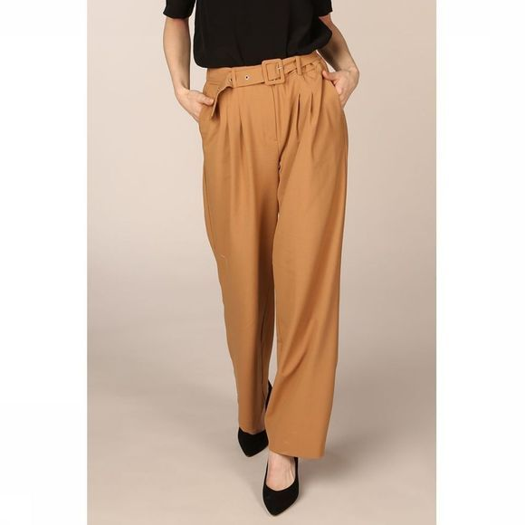 Selected Pantalon Slfsill Mw Chameau
