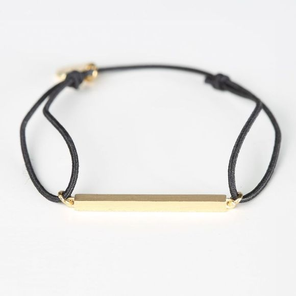 Timi Armband You Are Strong Stretch Goud