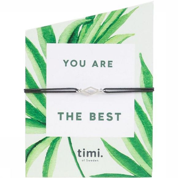Timi Bracelet You Are The Best Argent