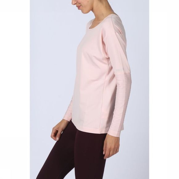 Casall T-Shirtll Line Ls Rose Clair