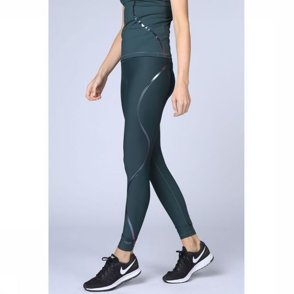 Casall Legging Streamline 7/8 Tights Middengroen