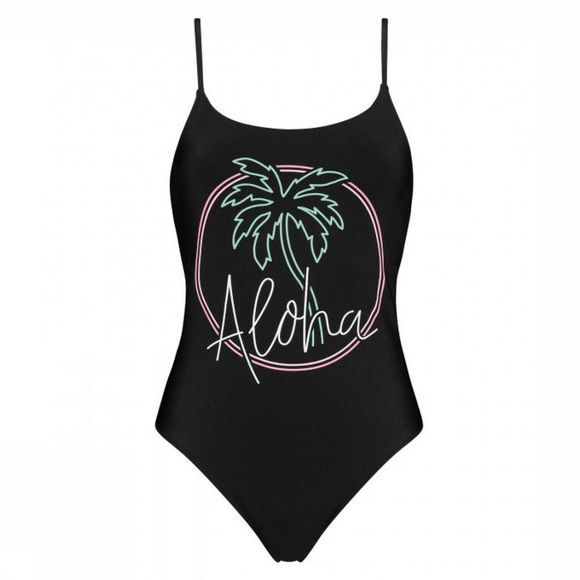 Catwalk Junkie Badpak S Breazy One Pieces Zwart