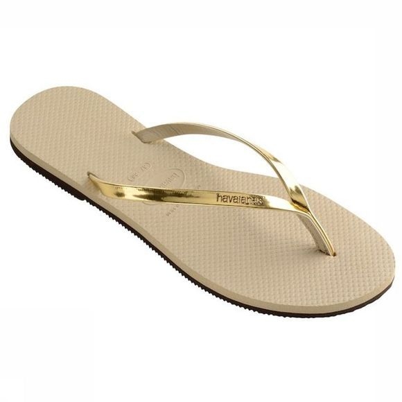 Havaianas Tongs You Metallic Brun Sable/Gris Moyen