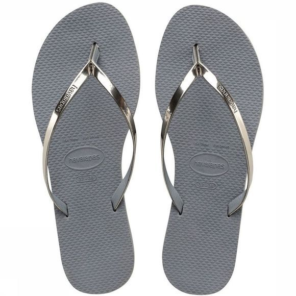 Havaianas Tongs You Metallic Gris Moyen