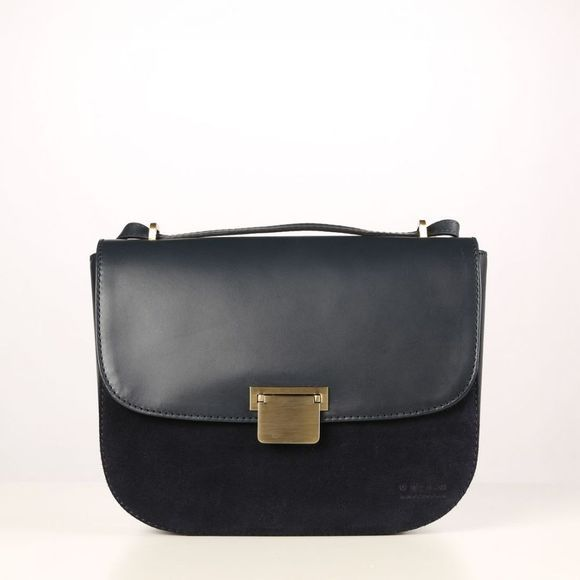 O My Bag Sac Megan Classic Leather Suede marine