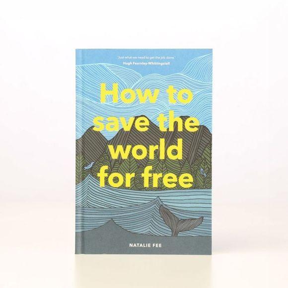 Laurence King Boek How To Save The World For Free Geen kleur