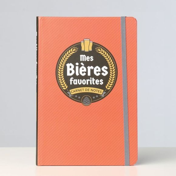 Paperstore Boek Carnet de Notes Mes Bieres Favorites Geen kleur