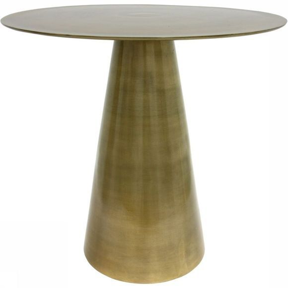 HK Living Tafel Brass Side Table Koper
