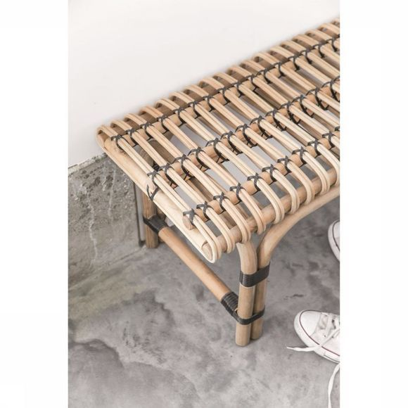 HK Living Sofa Rattan Bench Assortiment