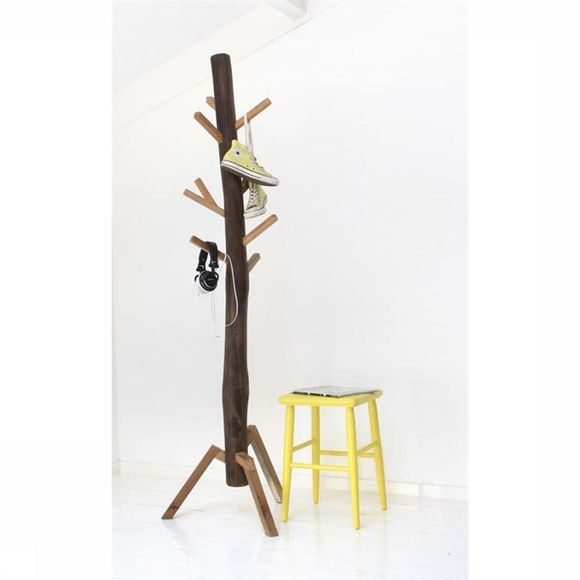 HK Living Portemanteau Coat Rack Teak Pas de couleur