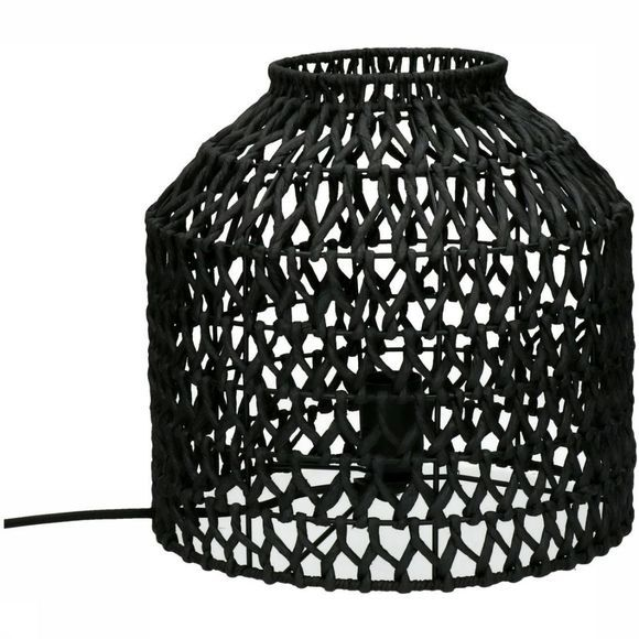 Pomax Lampe De Table Knupe Noir