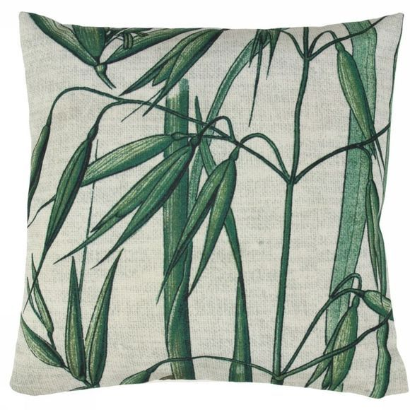 HK Living Coussin Printed Cushion Bamboo 45x45 Assortiment