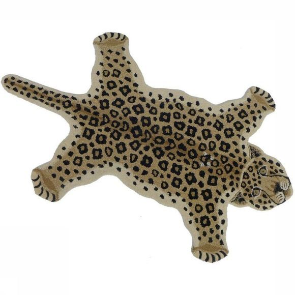 Doing Goods Tapijt Loony Leopard Rug Large Bruin