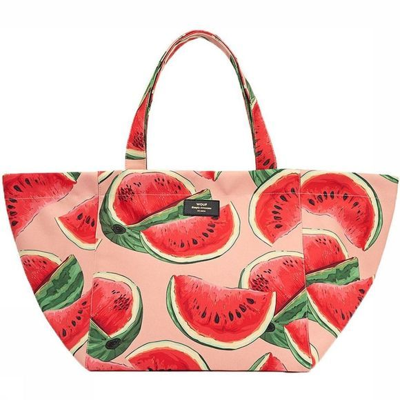 Wouf Tas Watermelon XL Rood/Middenroze
