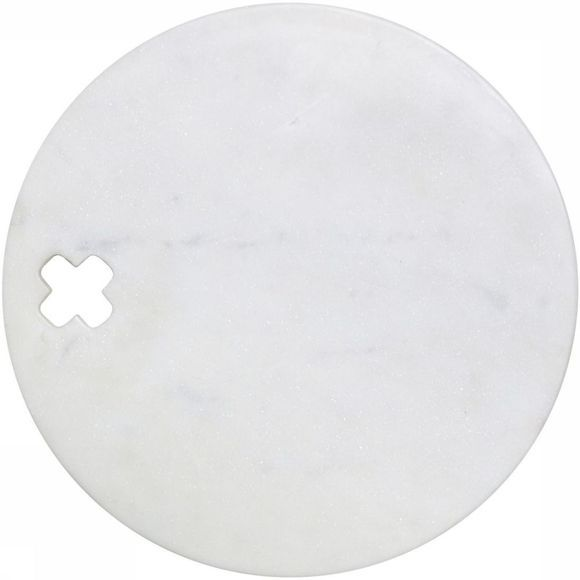 Marble Cross Board Round