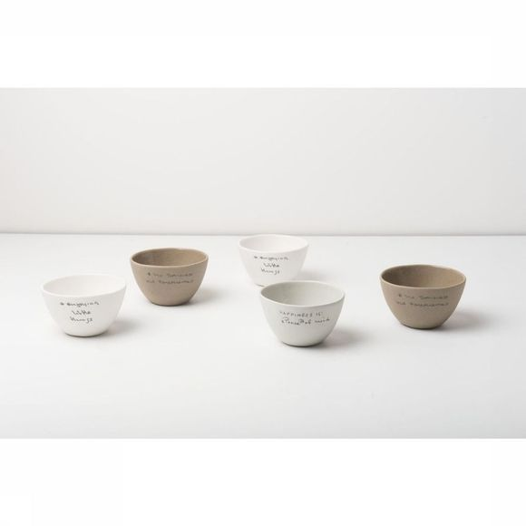 Urban Nature Culture Servies Bowl Historias Wit