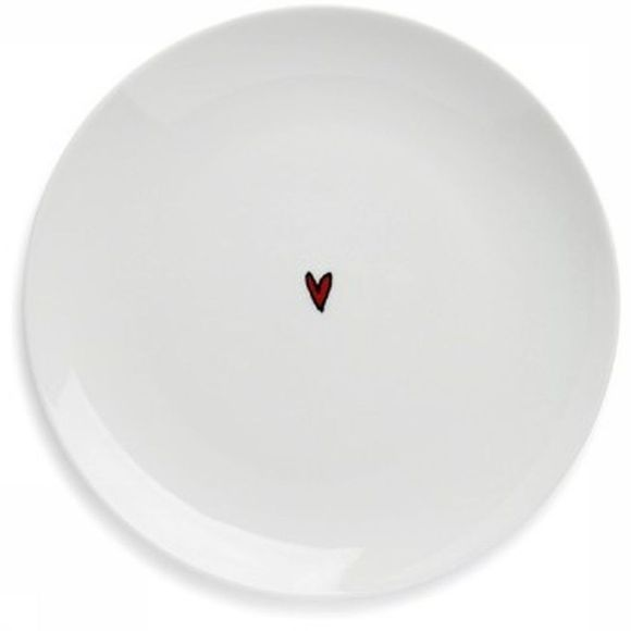 Servies Heart Dessert Plate