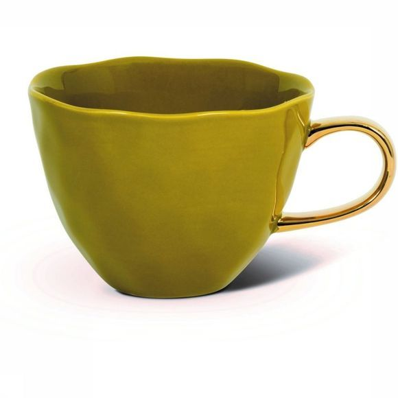 Urban Nature Culture Service De Vaisselle Morning Mug Amber Green Kaki Moyen