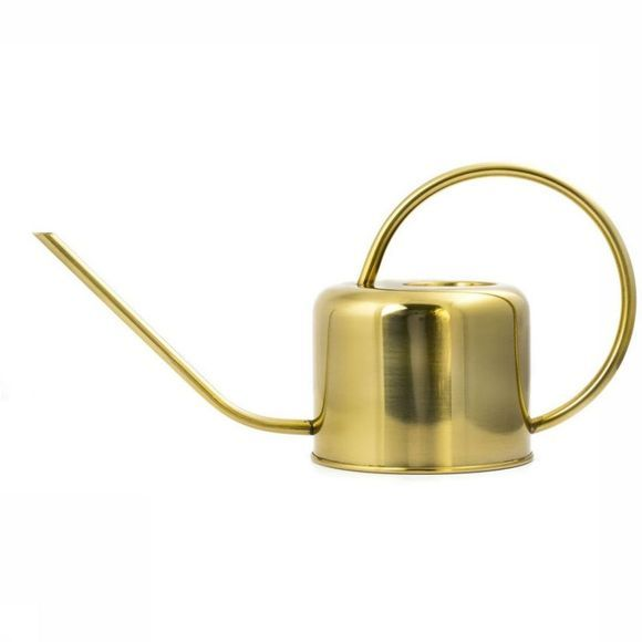 Kikkerland Tuinaccessoire Vintage Watering Can Goud
