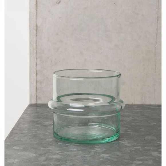 Tealight Holder Recycled Glas