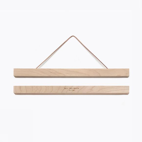 All the ways to say Kader Wooden Magnetic Hanger Groot Geen kleur