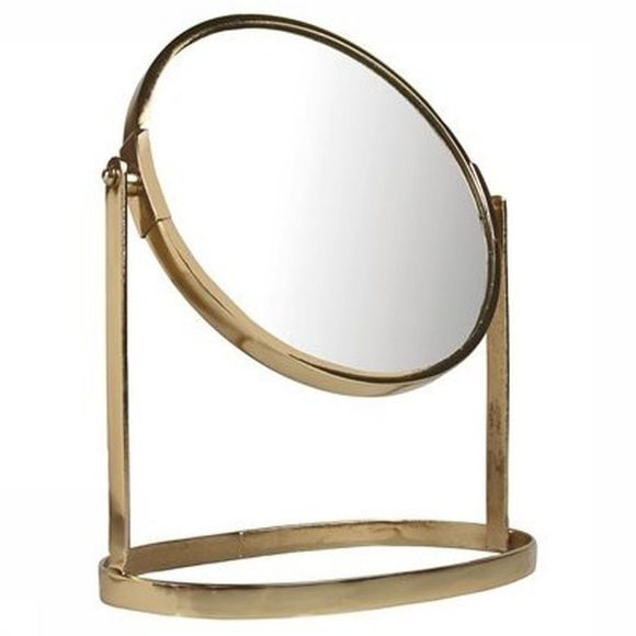 &KLEVERING Miroir Rotate Gold Small Or