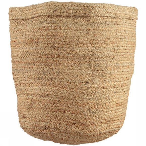 Urban Nature Culture Kleine Opberger Storage Bag Jute 40X45 Lichtbruin
