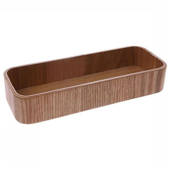 HK Living Petit Rangement Willow Wooden Box S Brun moyen