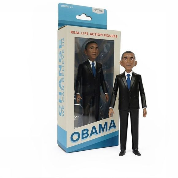 FCTRY Speelgoed Barack Obama - Action Figure Geen kleur
