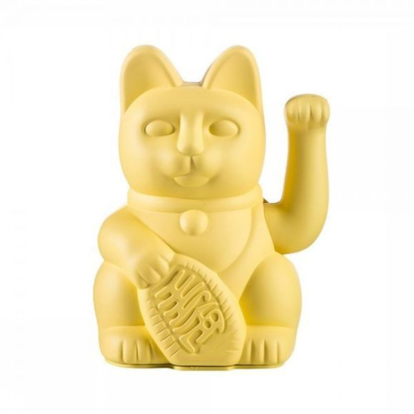 Donkey Decoration Lucky Cat Jaune Moyen