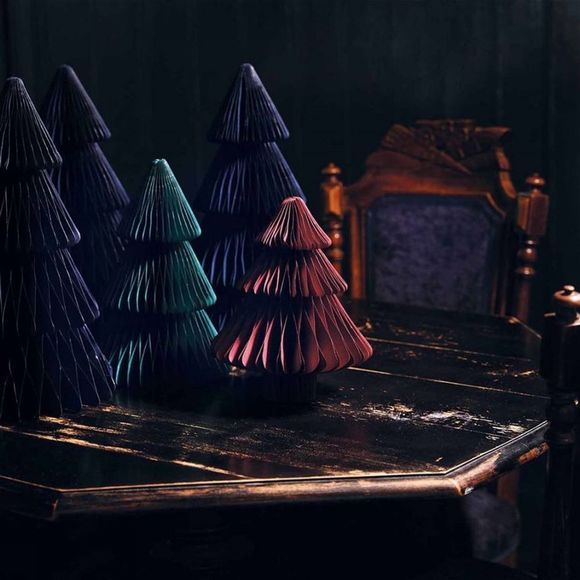 &KLEVERING Kerstcollectie Christmas Tree Paper Medium Donkergroen