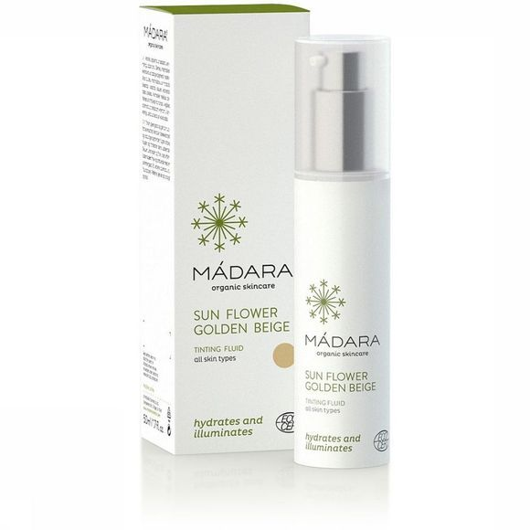 Madara Cosmetics Make-up sunflower golden beige tinting fluid 50ml exceptions