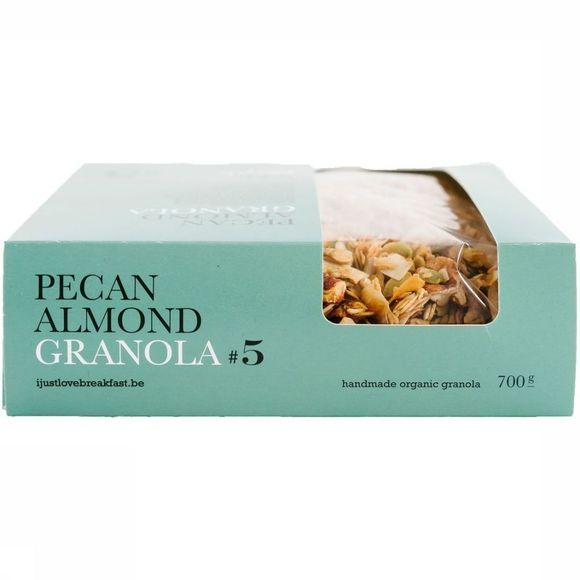 I Just Love Breakfast Granola #5 700gr Geen kleur / Transparant