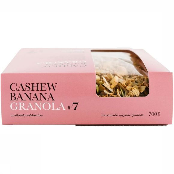 I Just Love Breakfast Granola #7 700gr Geen kleur
