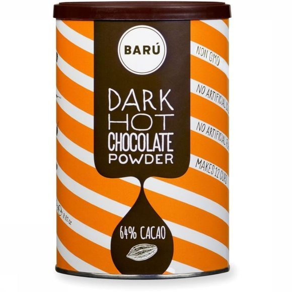 Baru Nourriture Drinking Powder Dark Hot Chocolade Pas de couleur
