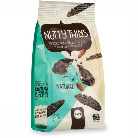 Baru Eten Nutty Thins Dark Almond & Sea Salt Geen kleur