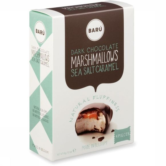 Baru Dark Chololate Fleur De Sel Caramel Marshmallows Pas de couleur