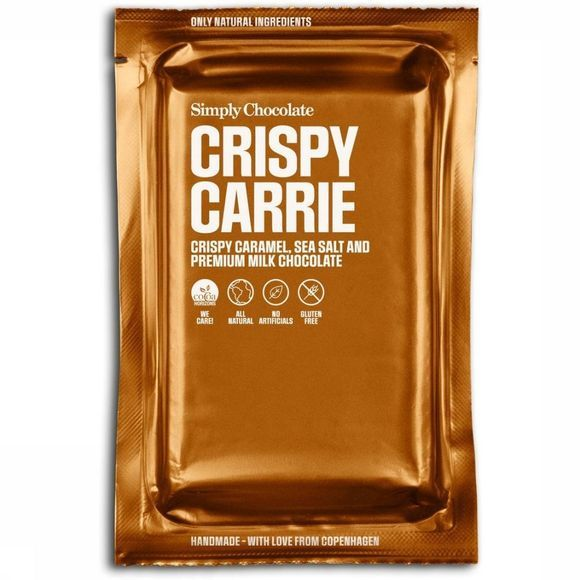 Simply Chocolate Nourriture Crispy Carrie - Big Bar Pas de couleur