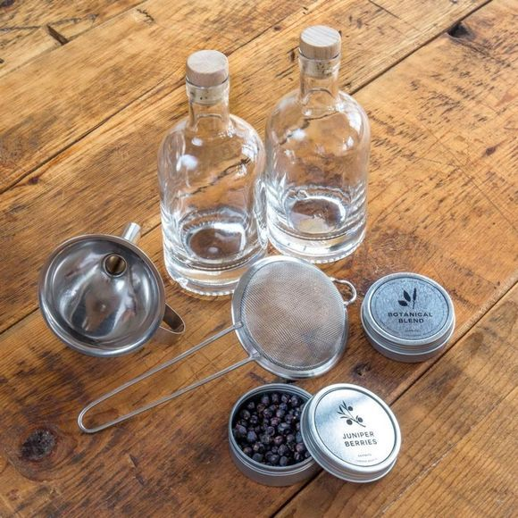 W&P Design Drinken The Homemade Gin Kit Geen kleur