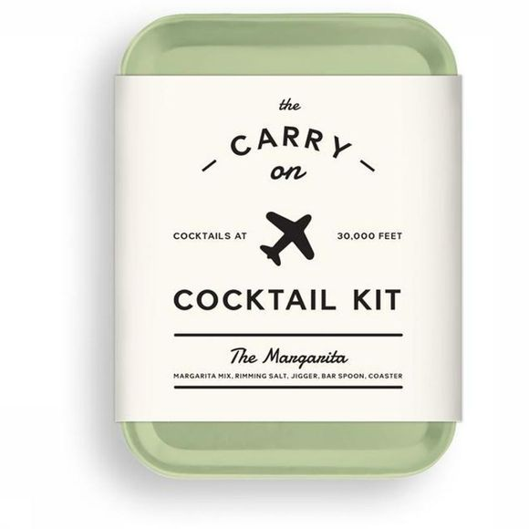 W&P Design Accessoire Carry On Cocktail Kit The Margarita Lichtgroen