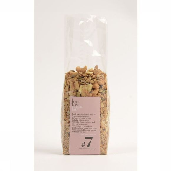 I Just Love Breakfast Granola #7 Geen kleur