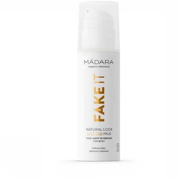 Madara Cosmetics Lotion Natural Look Self Tan Milk Geen kleur