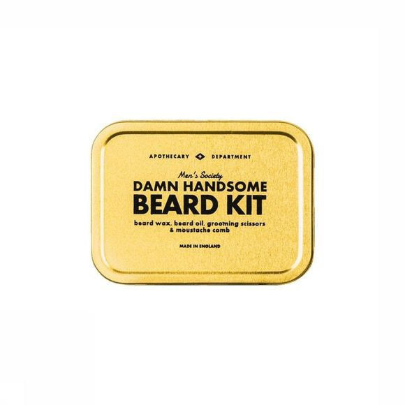 Men's Society Damn Handsome Beard Kit Goud