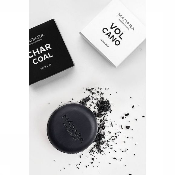 Madara Cosmetics Body Soap Charcoal Detox Geen kleur