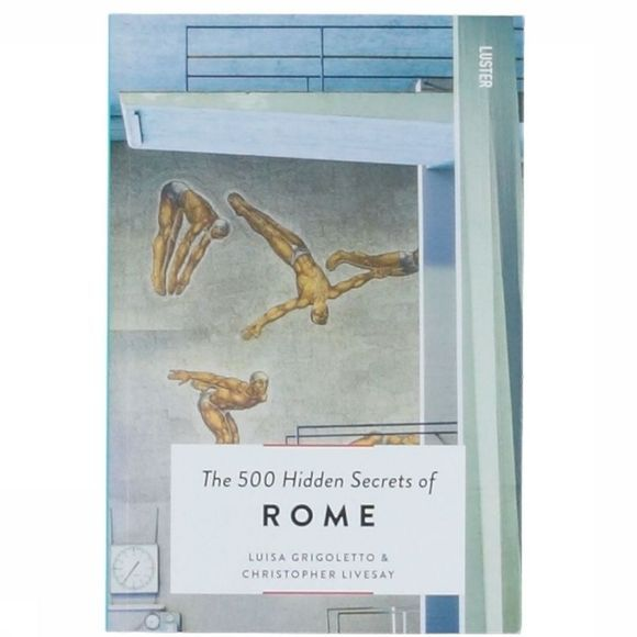 Luster Boek The 500 hidden Secrets Of Rome Geen kleur
